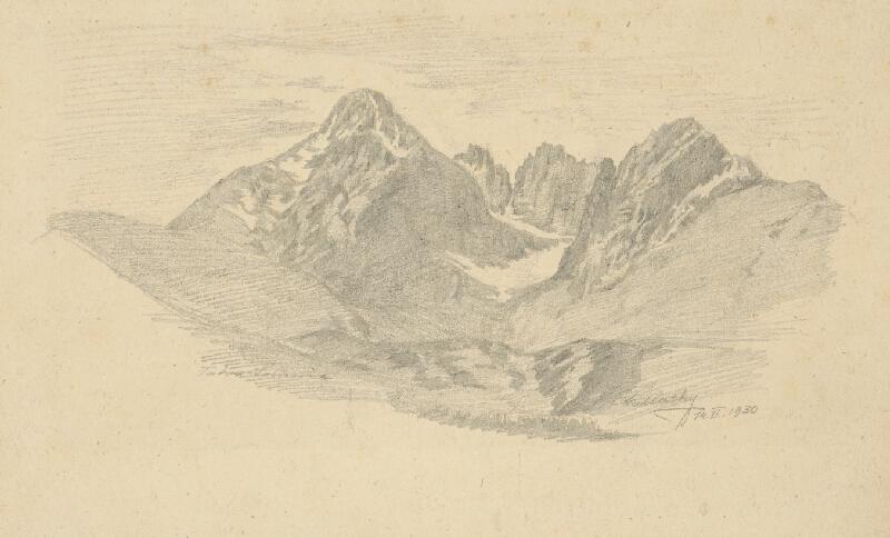 Eugen Wallachy - Lomnický štít
