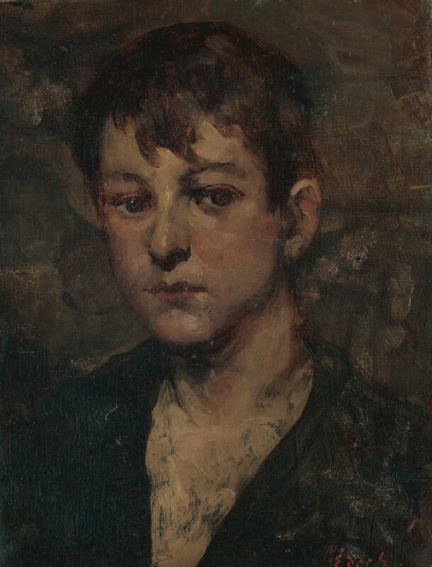 Július Éder - Hlava chlapca
