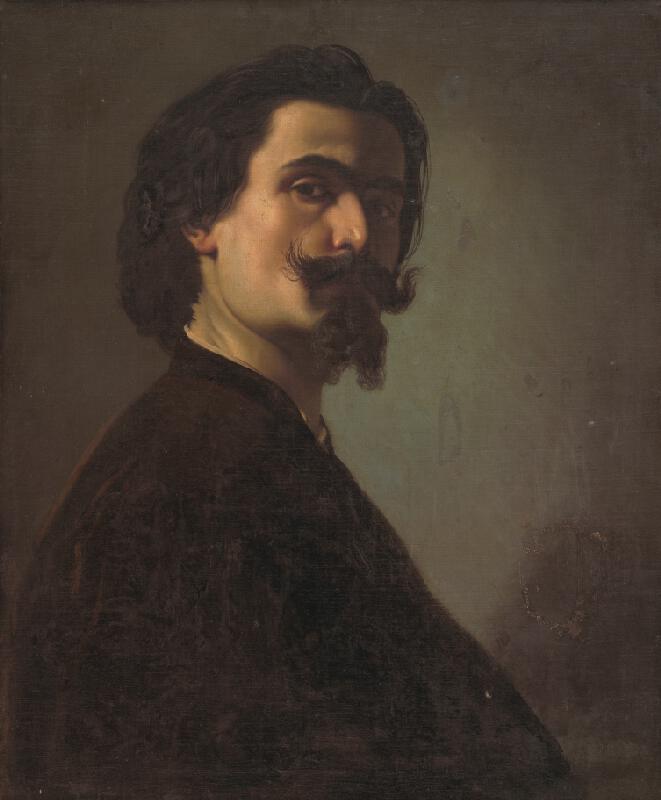 František Klimkovič - Podobizeň muža s bradou