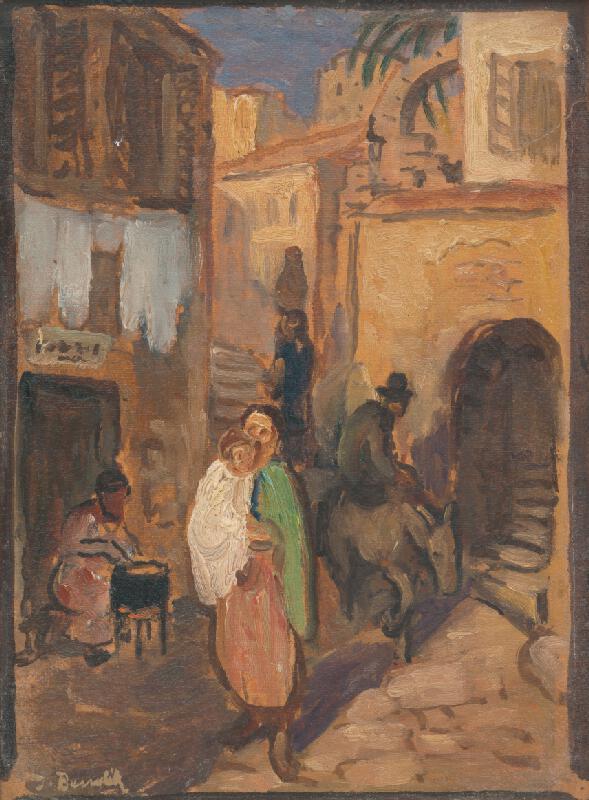 Jozef Bendík - V talianskej uličke