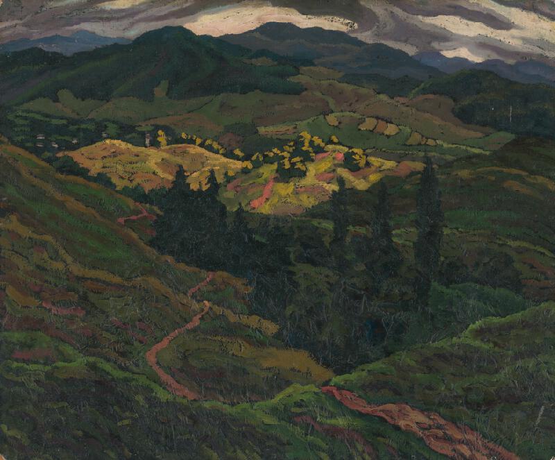 Edmund Gwerk - Horská krajina
