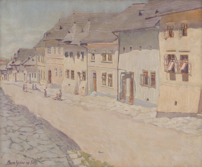 Konštantín Bauer - Záber z Levoče