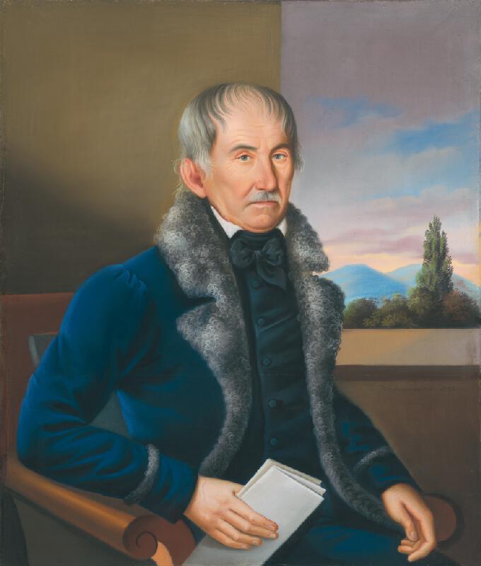 Károly Wieland – Portrét muža