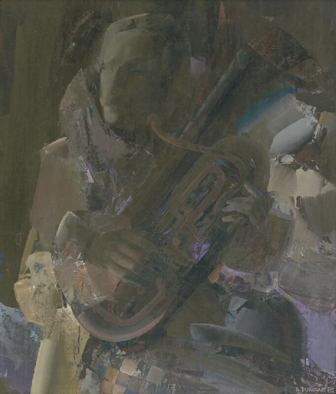 Attila Duncsák - Portrét s trúbkou