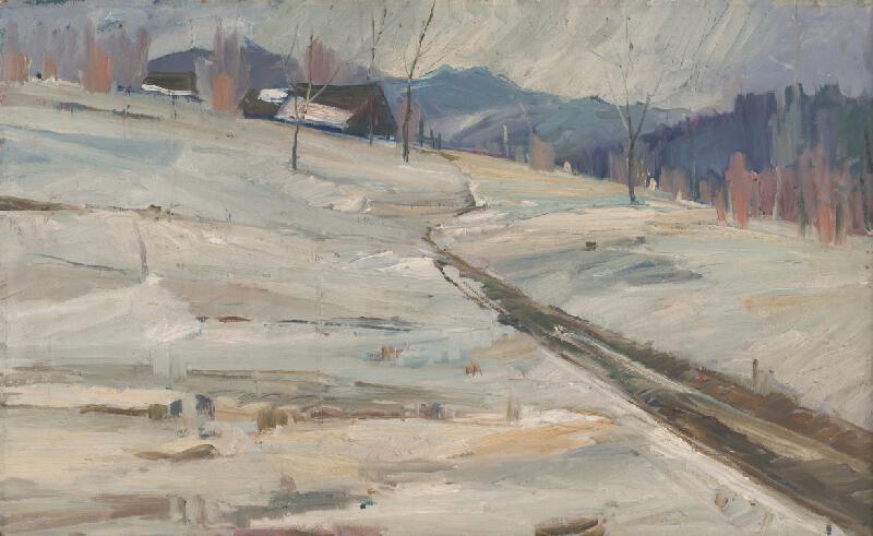 Vojtech Kalna - Zimná krajina