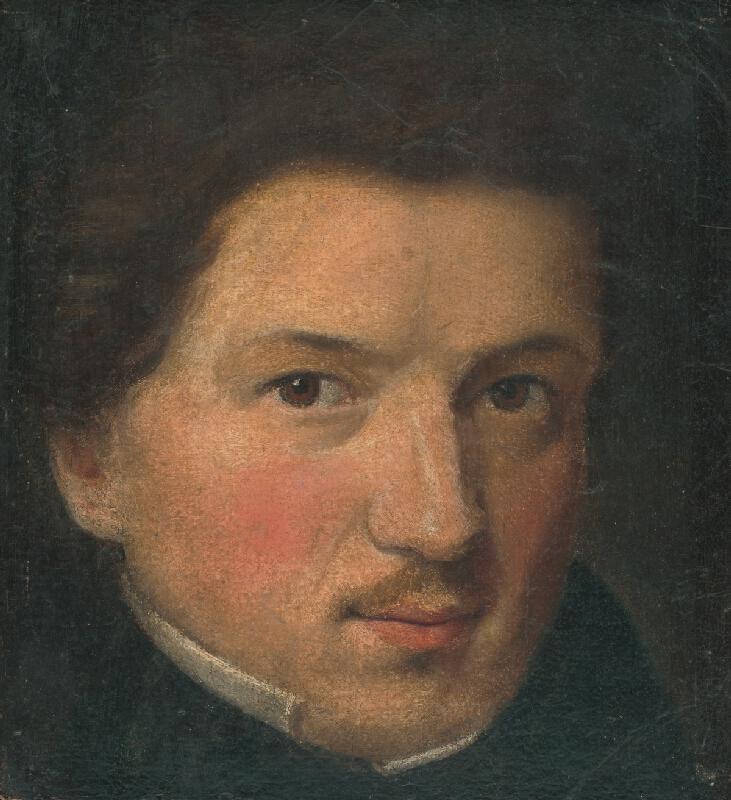 Gustav Adolf Müller - Vlastná podobizeň