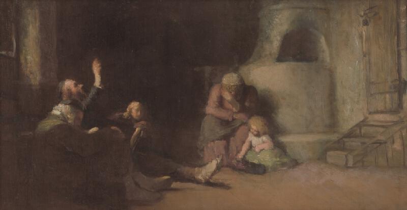 Leopold Horovitz - Figurálna kompozícia
