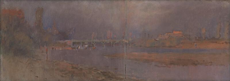 Ladislav Mednyánszky – Pri rieke