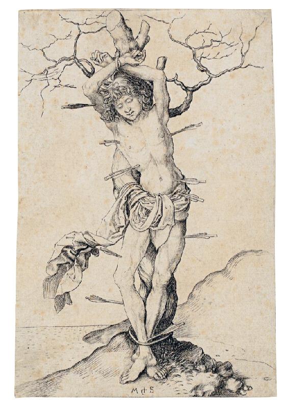 Martin Schongauer - Sv. Sebastian