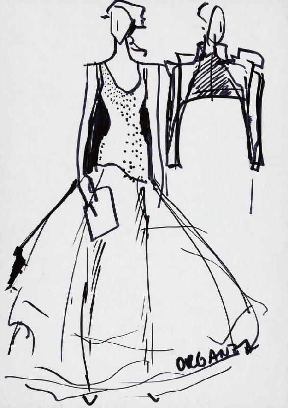 Mária Štraneková – Phala. Večerné šaty