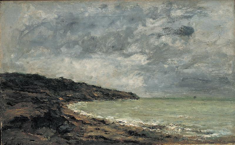 Charles-François Daubigny - Pobřeží v Bretani