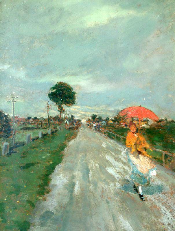 Lajos Deák-Ébner - Na ceste