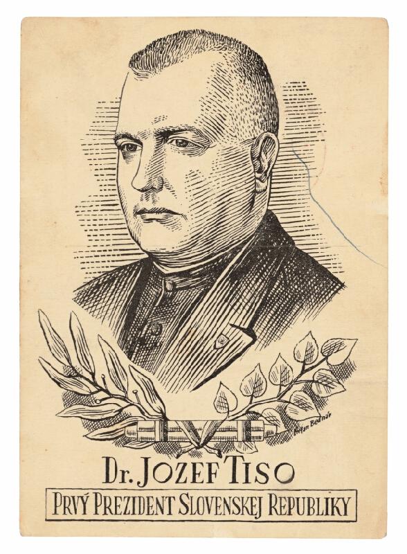 Štefan Bednár - Dr. Jozef Tiso, prvý prezident Slovenskej republiky