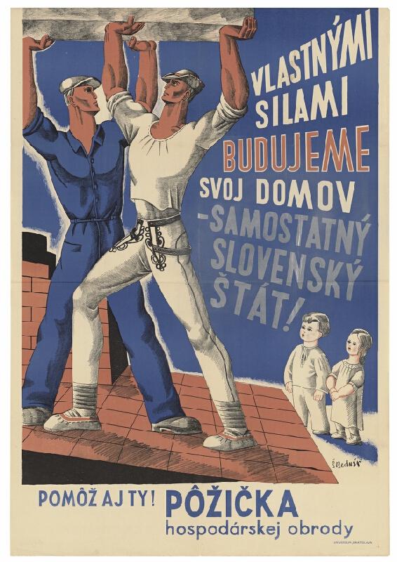 Štefan Bednár - Vlastnými silami budujeme svoj domov – samostatný Slovenský štát!
