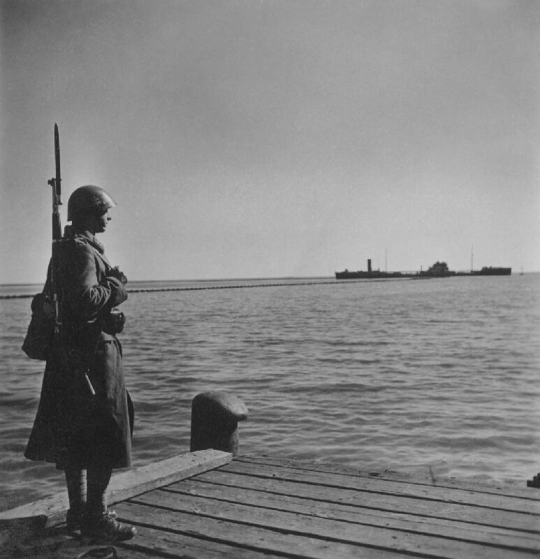 Jozef Cincík - Slovenský vojak na stráži pri Azovskom mori