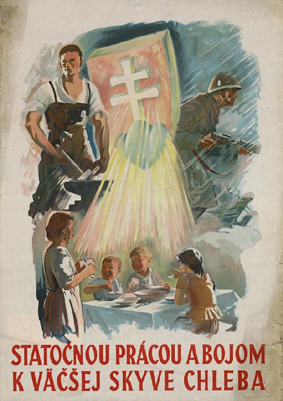 pravdepodobne Edmund Massányi - Statočnou prácou a bojom k väčšej skyve chleba