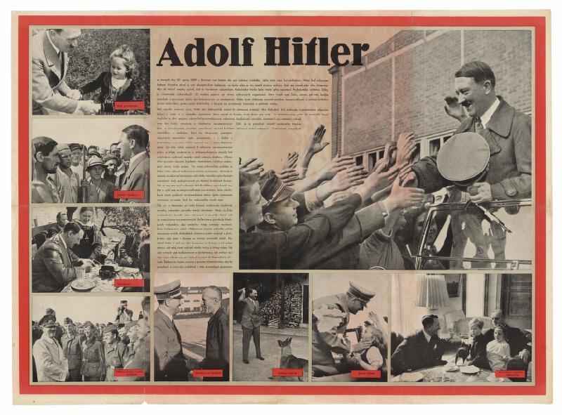 Neznámy autor - Adolf Hitler