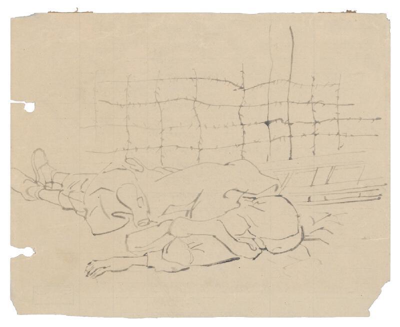 Jozef Fedora - Mŕtvy za ostnatým drôtom v koncentračnom tábore