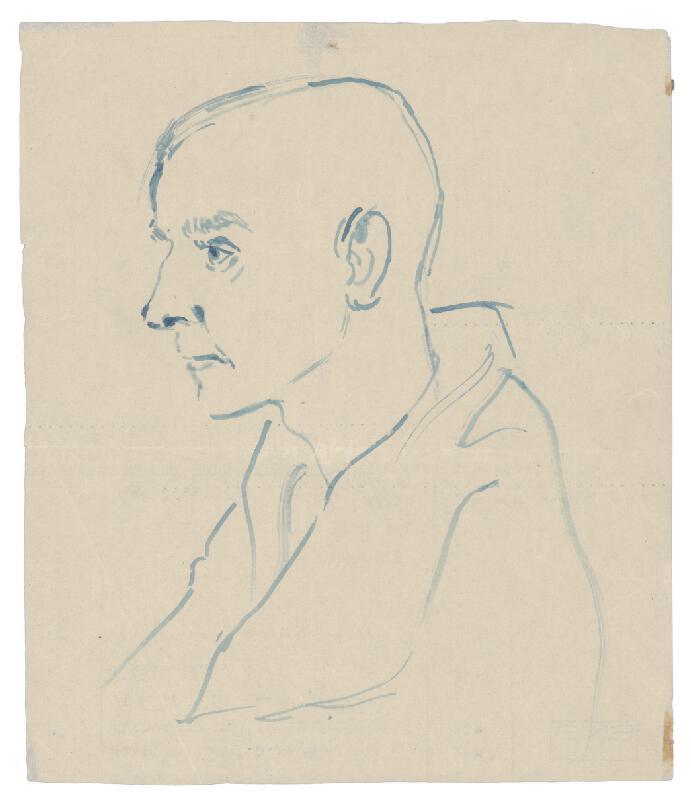 Jozef Fedora - Hlava muža z koncentráku