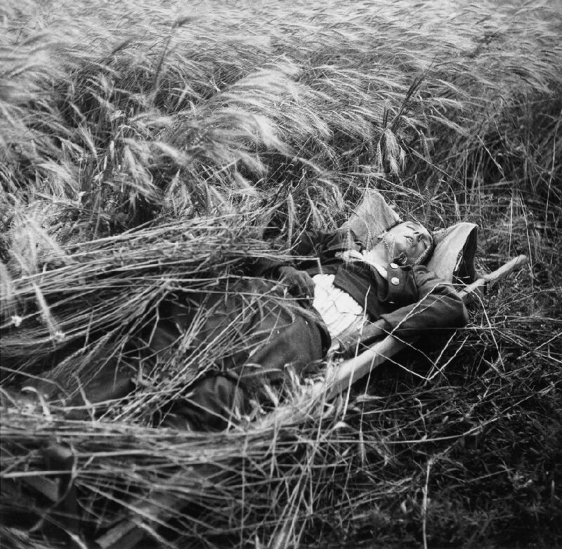 Jozef Cincík - Šumenie klasov spieva pohrebnú pieseň padlému hrdinovi
