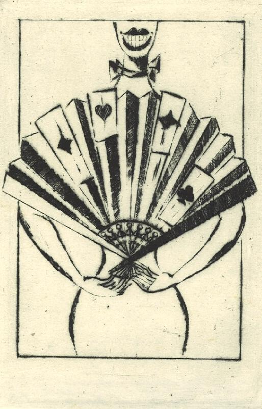 František Tichý - Frontispice ke knize