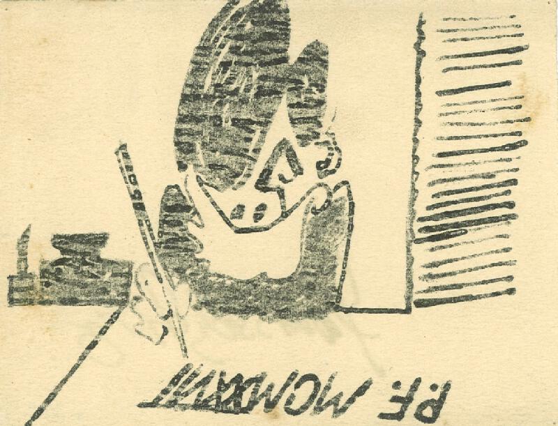 František Tichý - Novoročenka Františka Tichého na rok 1927