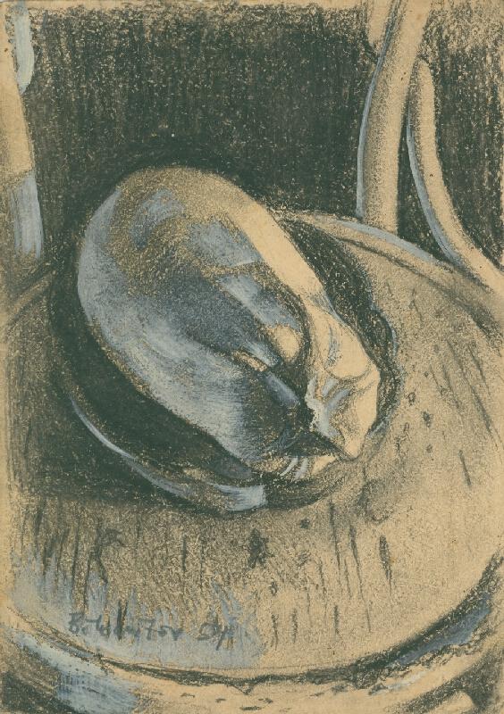 Andrej Bělocvětov - Zátiší s dýní