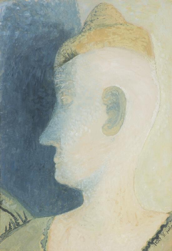 František Tichý - Hlava clowna