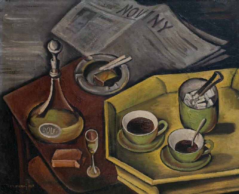 František Viktor Mokrý - Černá káva