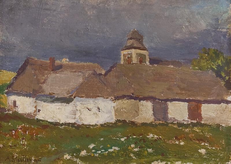 Antonín Slavíček - Před bouřkou v Kameničkách
