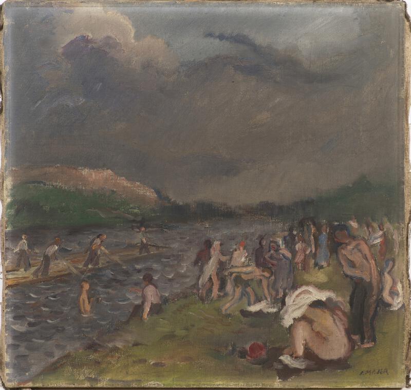Antonín Majer - Koupání před bouří