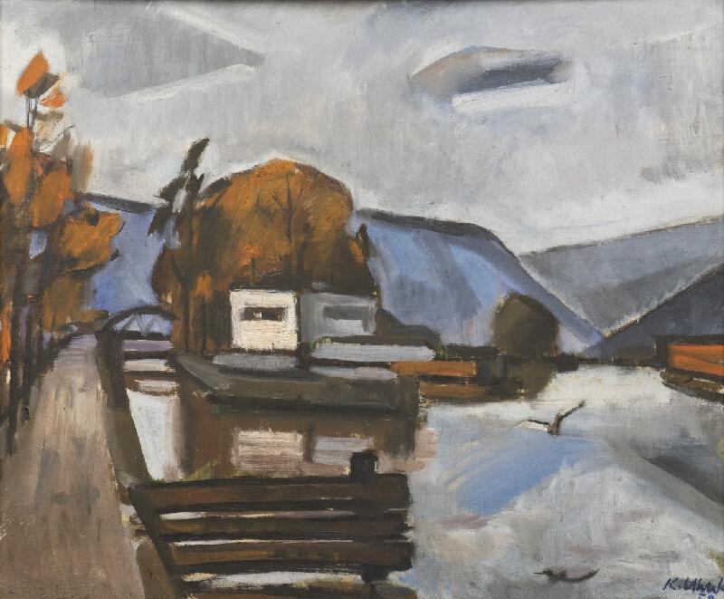 Karel Uhlík - Vltava u Tróje