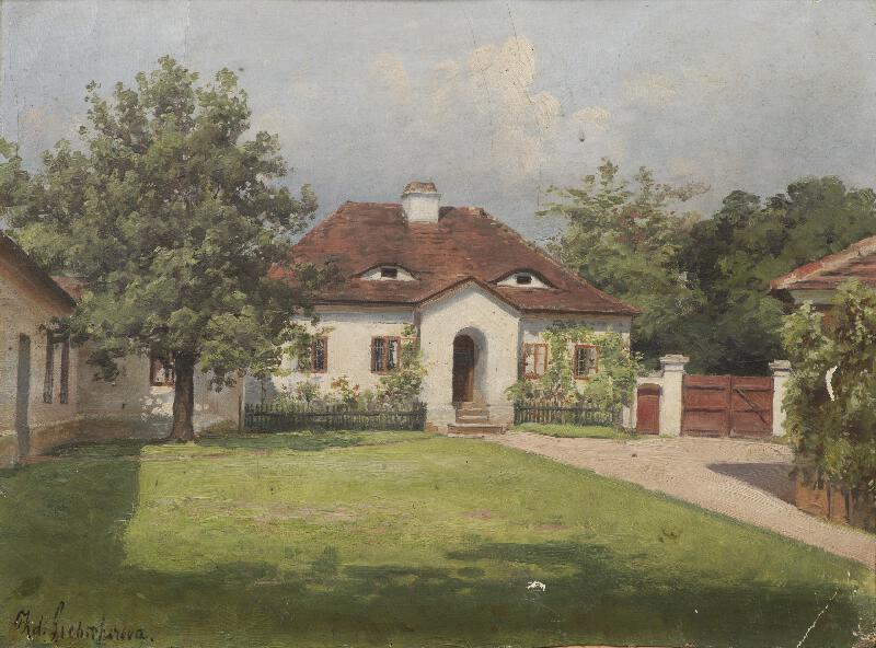 Zdeňka Čechová-Liebscherová - Domek se dvorem