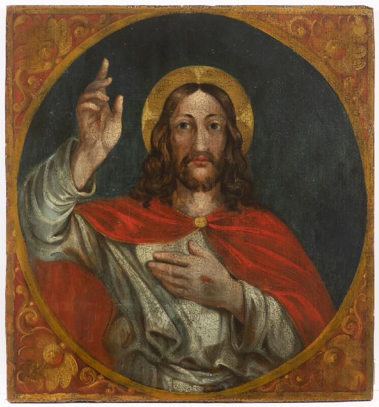 Neznámý český autor - Žehnající Kristus