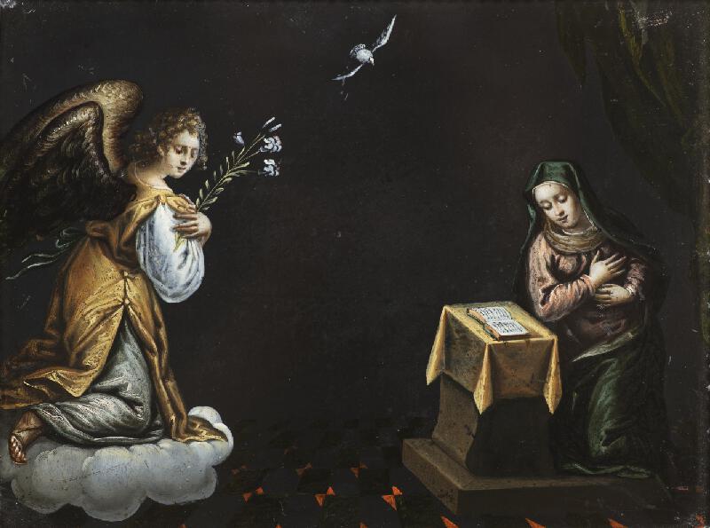 Neznámý středoevropský (?) autor - Zvěstování Panny Marie I.