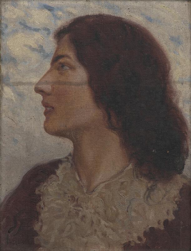 Vilém Kreibich - Portrét ženy