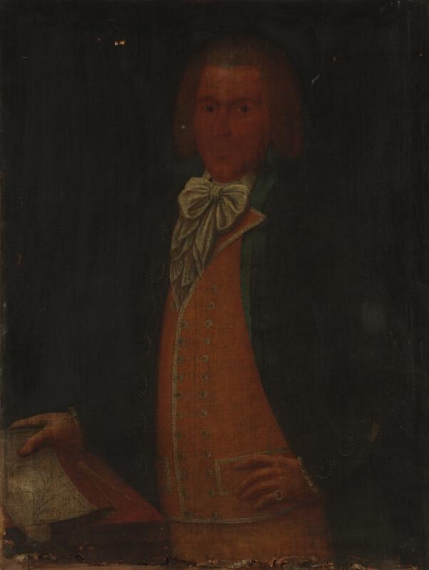 Neznámý český autor - Portrét pána