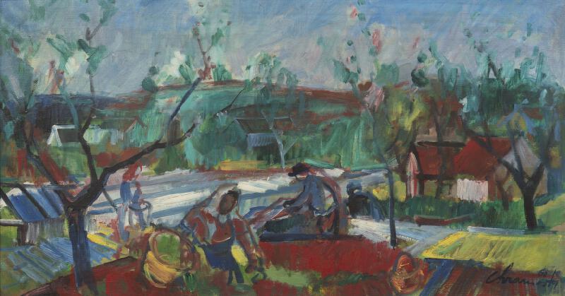 Cyril Chramosta - Jaro v zahradnictví